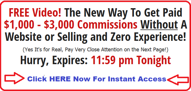 The New Way To Get Paid $1,000 - $3,000 Commissions Online